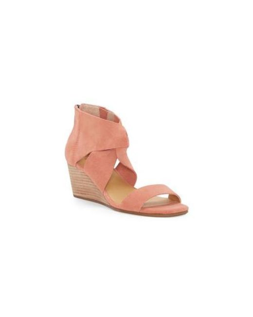 24f8f902c Browse stores. Lucky Brand - Pink Tammanee Wedge for Men - Lyst