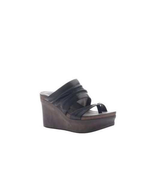 aa30dc51012 Otbt - Multicolor Tailgate Platform Wedge Sandal - Lyst