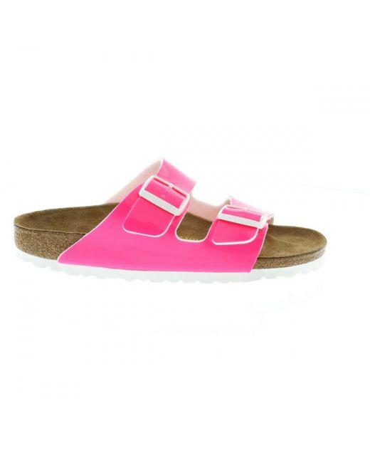 e6c7c79c29eb ... Birkenstock - Pink Arizona Narrow Fit - Lyst ...