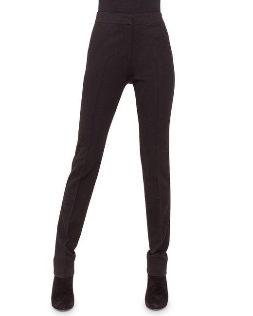 Akris Punto - Black Raised-seam Jersey Pants - Lyst