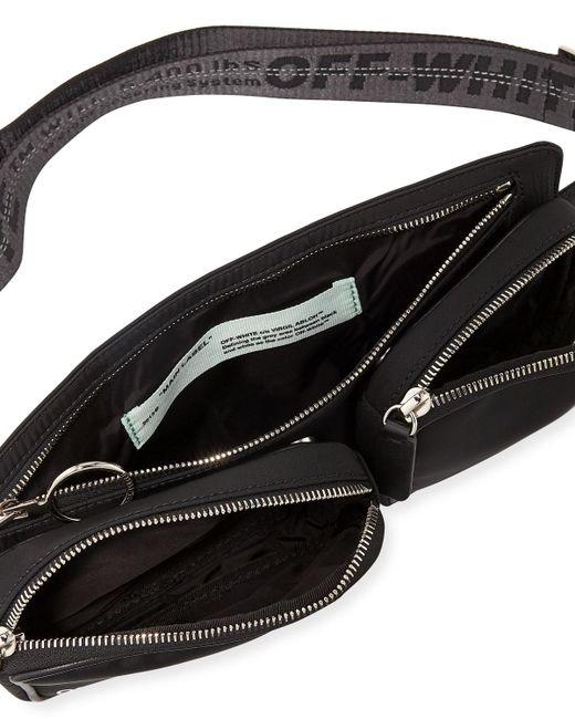 f85c4b972c3 Lyst - Off-White c o Virgil Abloh Hip Bag in Black for Men - Save 39%