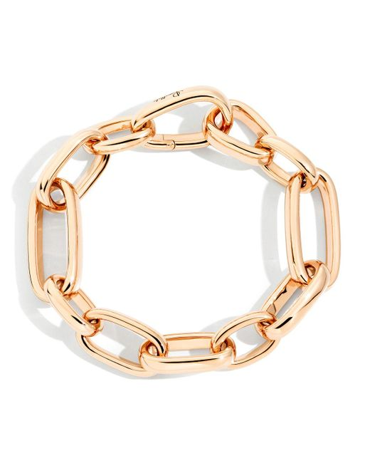Pomellato Metallic Iconica 18k Rose Gold Slim-chain Bracelet