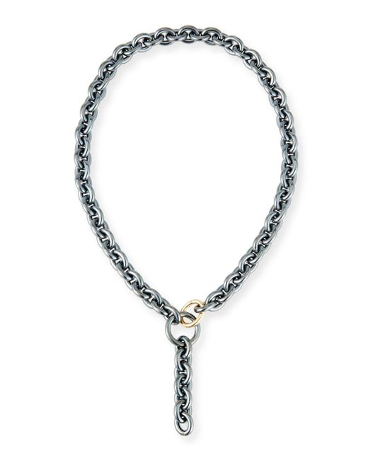 Grazia And Marica Vozza   Metallic Marianne Chain Y-drop Necklace   Lyst
