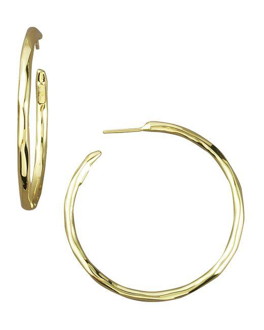 Ippolita | Yellow Thin Glamazon Hoop Earrings | Lyst