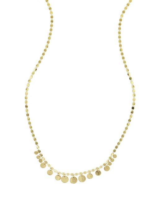 Lana Jewelry | Metallic Fifteen Mini Disc Chain Choker Necklace | Lyst