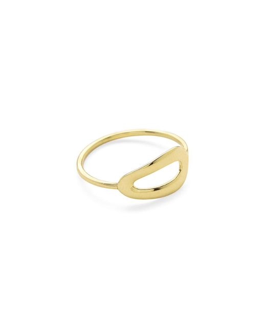 Ippolita - Metallic 18k Gold Cherish Large One-link Ring - Lyst