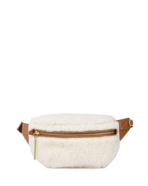 3.1 Phillip Lim Multicolor Shearling Slim Bum Belt Bag