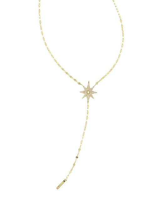 Lana Jewelry   Metallic Large Diamond Star Lariat Necklace   Lyst