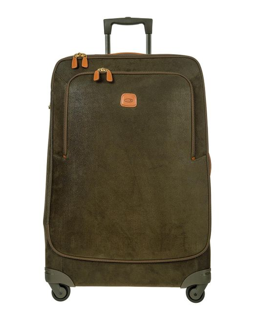 """Bric's - Green Life Olive 32"""" Spinner Luggage for Men - Lyst"""