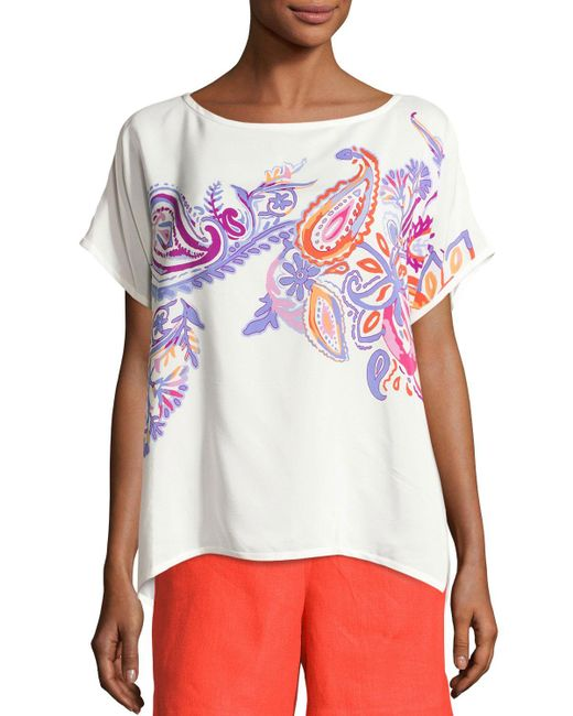 Loro Piana | Multicolor Camicie Miriam Haveli Top | Lyst
