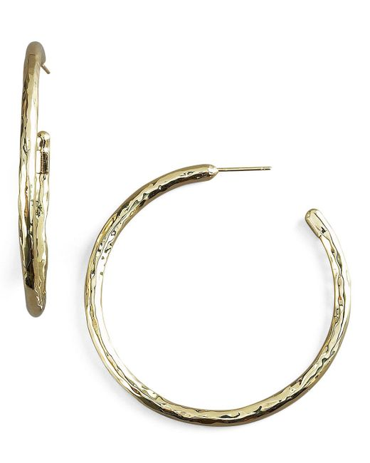 Ippolita - Metallic Glamazon Gold Hoop Earrings - Lyst