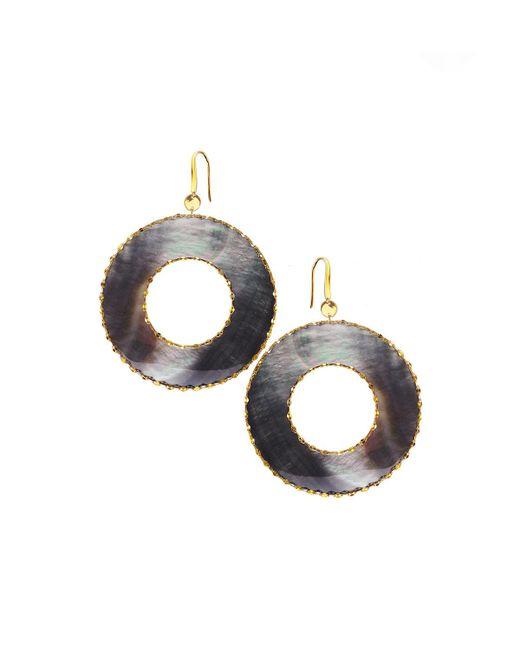 Lana Jewelry   Yellow Elite Mystiq Open Ring Earrings   Lyst