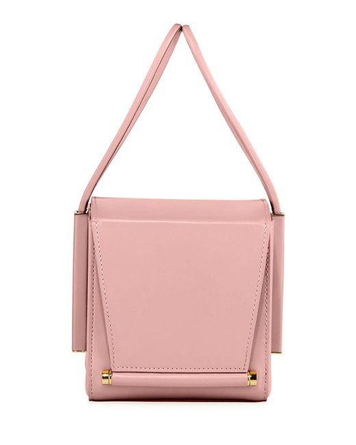 Roksanda Pink Smooth Leather Box Bag