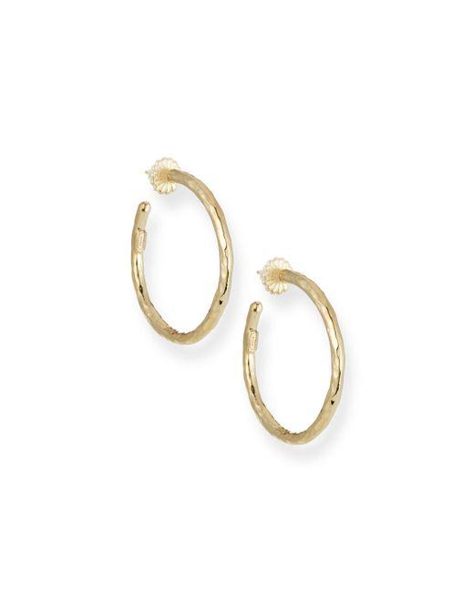 Ippolita - Metallic Glamazon 18k Gold #3 Hoop Earrings - Lyst