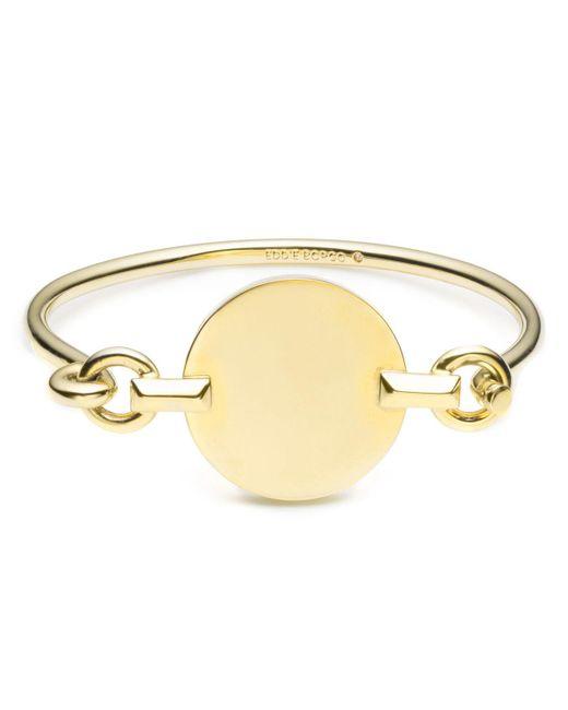 Eddie Borgo | Metallic Token Tension Cuff Bracelet | Lyst