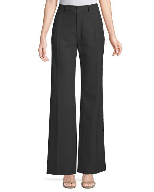 Joseph - Black Ferguson Fluid Wool Wide-leg Pants - Lyst