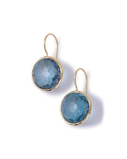 Ippolita - Blue 18k Gold Lollipop Drop Earrings - Lyst