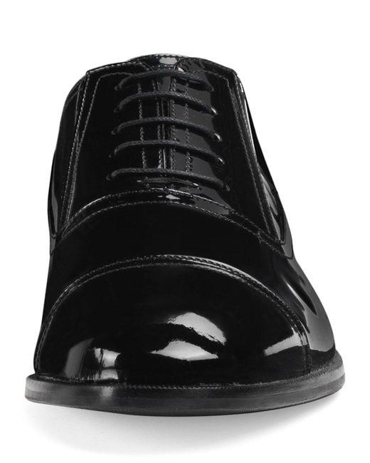 cc5b1b8b6 ... Lyst Gucci - Black Men's Patent Leather Lace-up Shoes for Men ...