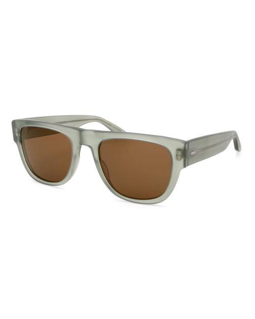 Barton Perreira Brown Men's Kahuna Square Acetate Sunglasses for men