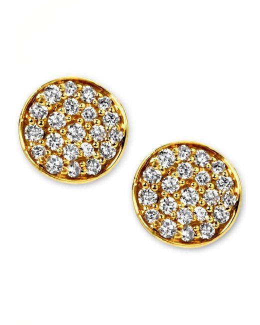 Ippolita Metallic Stardust Mini Diamond Stud Earrings