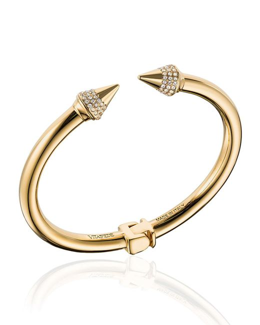 Vita Fede - Metallic Mini Titan Crystal Cuff Bracelet - Lyst