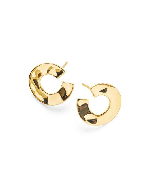 Ippolita - Metallic 18k Senso & #153 Open Wavy Disc Earrings - Lyst
