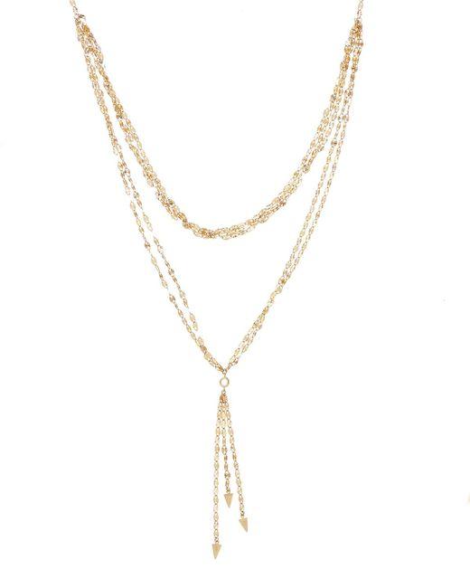 Lana Jewelry - Yellow Elite Mega Vista Lariat Necklace - Lyst