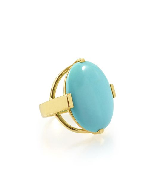 Ippolita - Blue 18k Polished Rock Candy Large Turquoise Ring - Lyst
