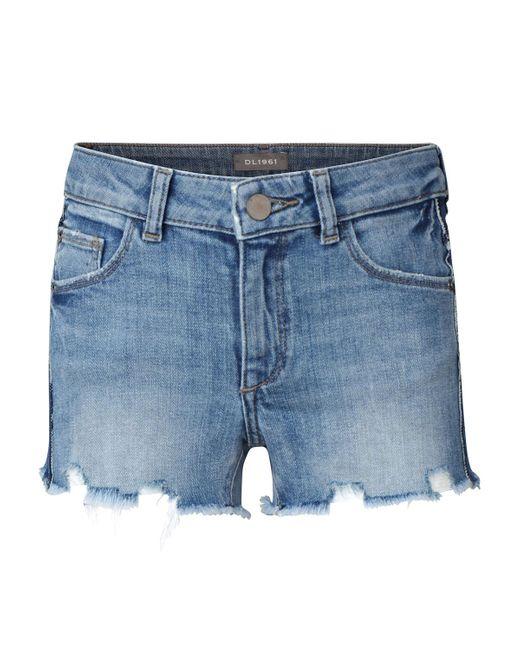 DL1961 Blue Girls' Lucy Cut Off Denim Shorts