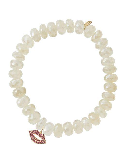 Sydney Evan   White Design Your Own Bracelet (made To Order)   Lyst