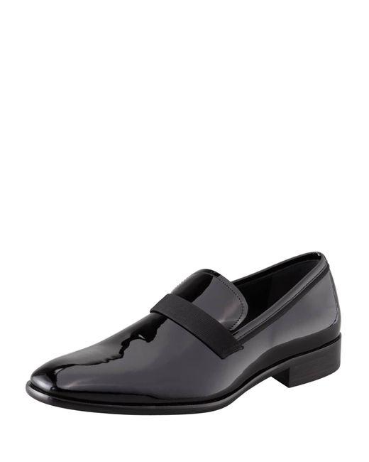 Ferragamo Black 'antoane' Formal Loafer for men