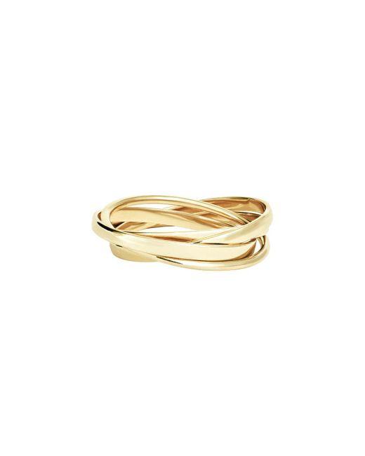 Lana Jewelry - Metallic Small Staking Ring Set In 14k Gold - Lyst
