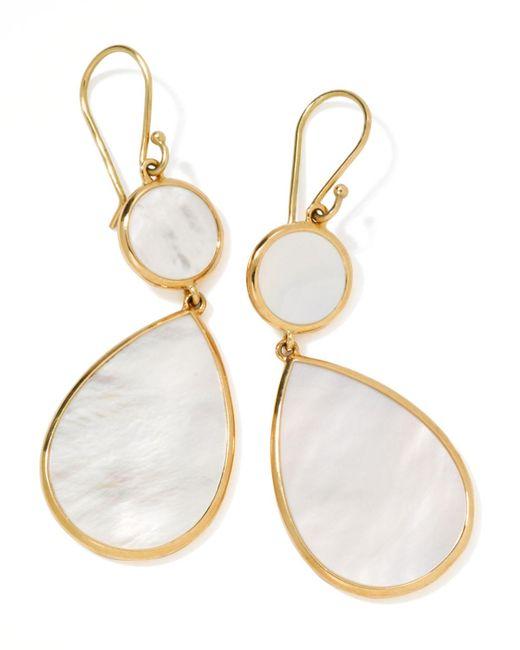 Ippolita - White Rock Candy Snowman Earrings - Lyst