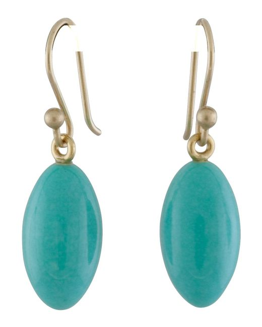 Ted Muehling - Blue Turquoise Berry Earrings - Lyst