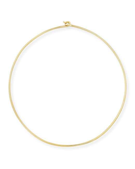 Edie Parker - Metallic 14k Wire Choker Necklace - Lyst