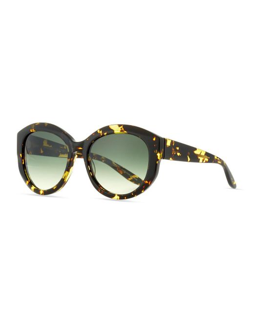 Barton Perreira | Brown Patchett Tortoiseshell Sunglasses | Lyst