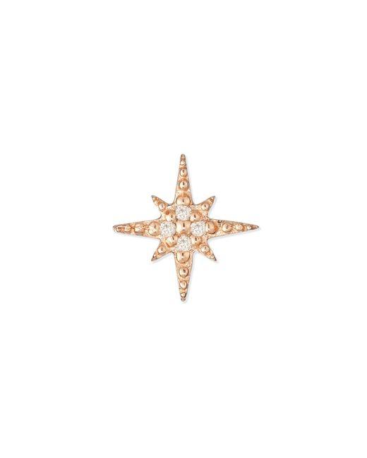 Sydney Evan - Pink Starburst Diamond Single Stud Earring - Lyst