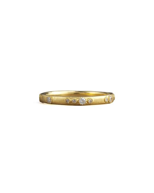 Armenta   Metallic Scattered Diamond Ring   Lyst