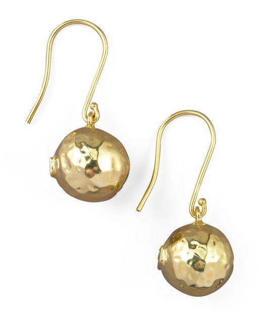 Ippolita Yellow Ge278 Mini Ball Drop