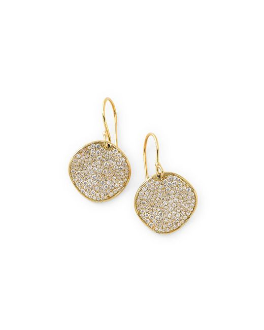 Ippolita - Metallic 18k Glamazon Stardust Earrings With Diamonds - Lyst