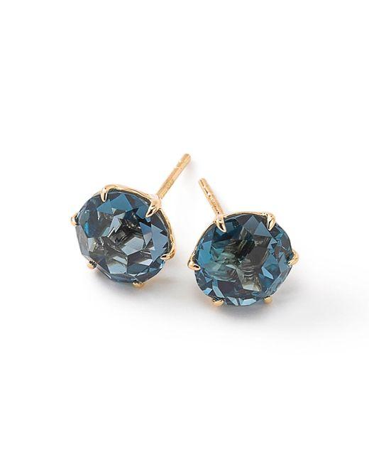 Ippolita - Blue 18k Rock Candy Round Stud Earrings - Lyst