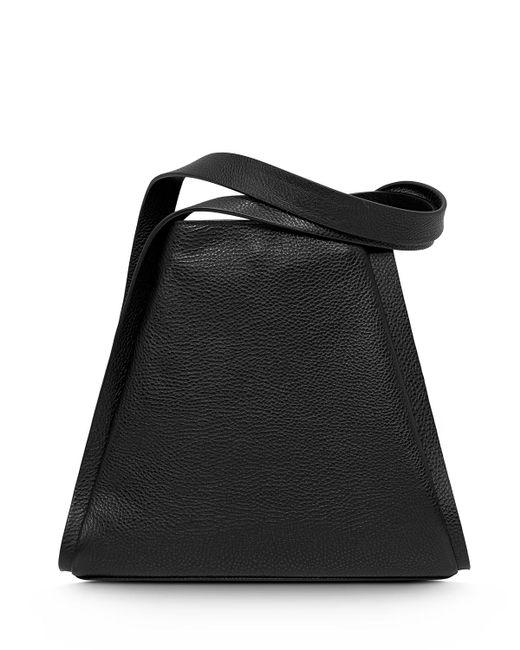 Akris - Black Alex Medium Seamed Bucket Tote Bag - Lyst