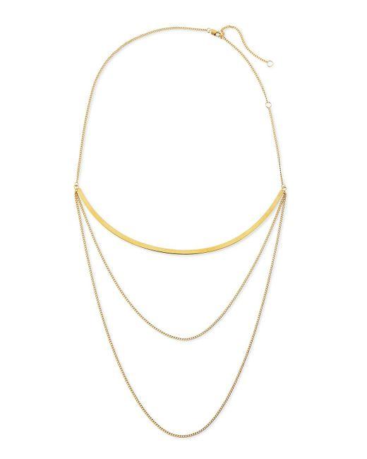 Jennifer Zeuner | Metallic Kendall Multi-chain Choker Necklace | Lyst