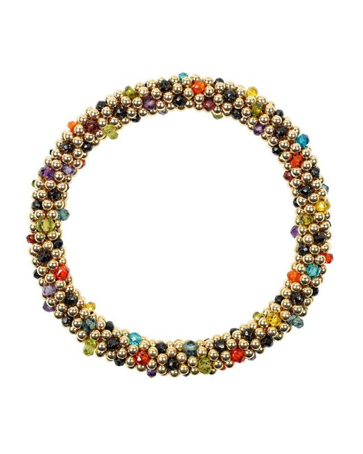 Meredith Frederick | Multicolor 14k Mixed-stone Bead Bracelet | Lyst