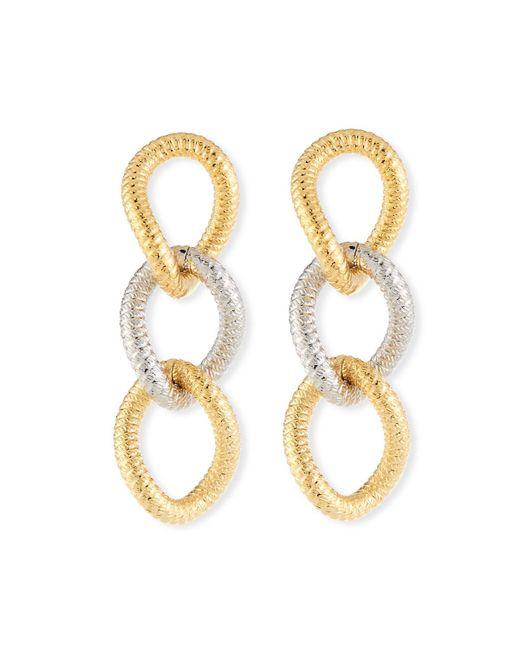 Vita Fede - Metallic Raffina Link Drop Earrings - Lyst