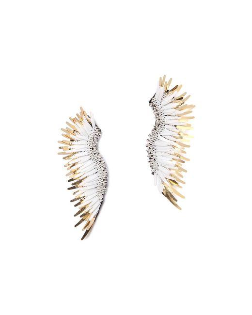Mignonne Gavigan - Metallic Madeline Beaded Statement Earrings - Lyst