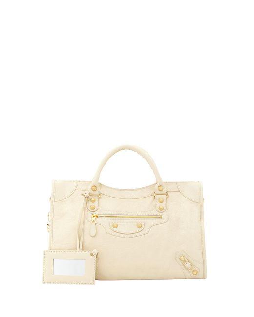 Balenciaga | Natural Giant 12 Golden City Bag | Lyst