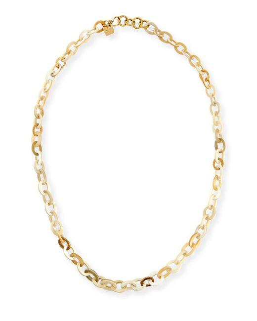 Ashley Pittman | Metallic Mini Mara Light Horn Necklace | Lyst