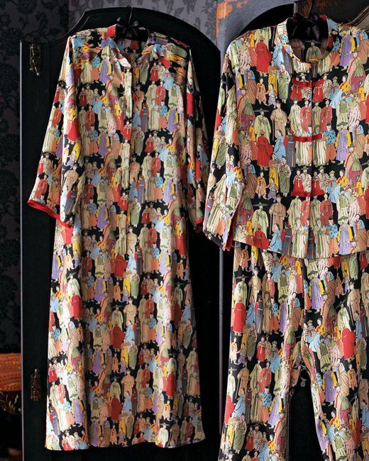 Natori | Black Notch Collar Pajama Set | Lyst