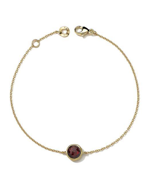 Ippolita | Red 18k Gold Lollipop Bracelet In Garnet | Lyst